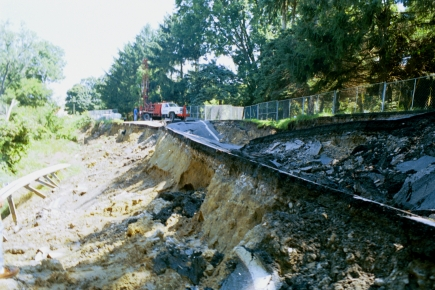 Tonawanda Creek Slope Failure