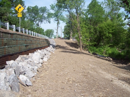 Tonawanda Creek at West Phalinger Remediation