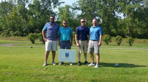 McMahon & Mann Employees Attend Scholarship Golf Tournament
