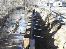 Thatcher Brook Retaining Wall