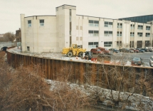 Niagara Mohawk Wall Project
